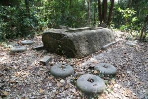 Restes du temple 'Syonan-Jinja'